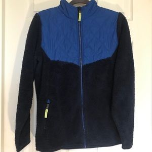 Champion boy's fleece quilted jacket-XL(16/18)